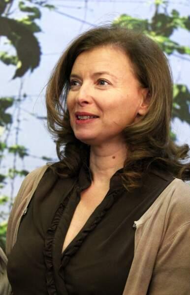 Valérie Trierweiler en visite au salon de l'agriculture