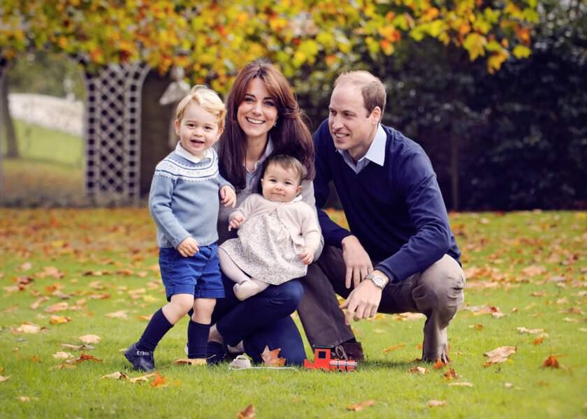Portrait de la famille royale, octobre 2015
