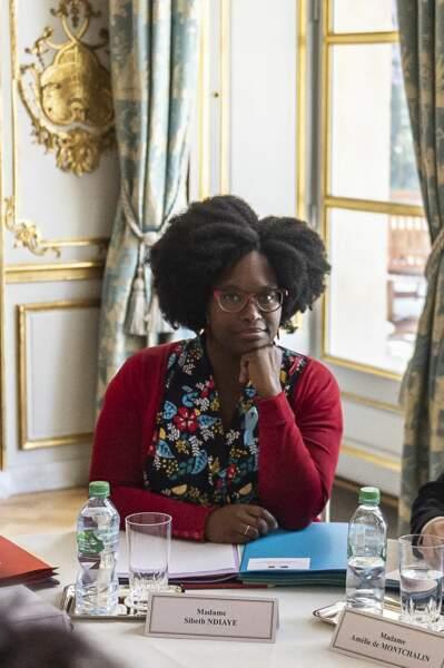 Précédemment responsable de la communication de l'Elysée, Sibeth Ndiaye remplace Benjamin Grieveaux