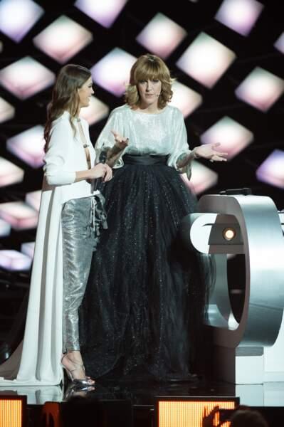Iris Mittenaere a choisi de porter du Stéphane Rolland