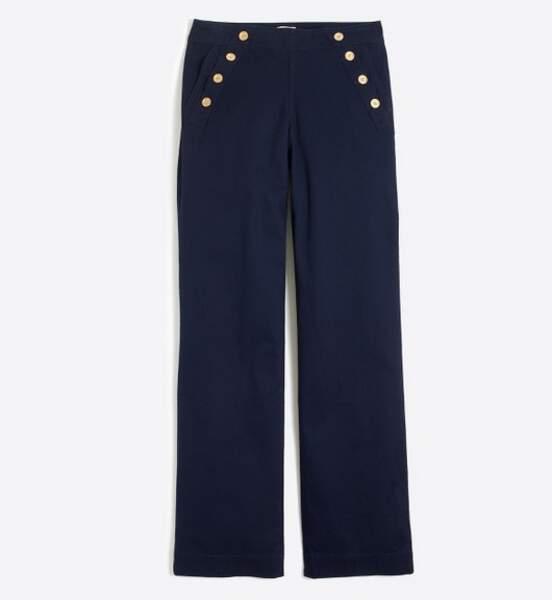 J. Crew - Pantalon marin (45 euros)