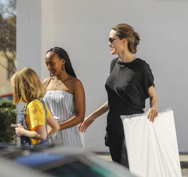 Zahara, la fille d'Angelina Jolie, a bien grandi !