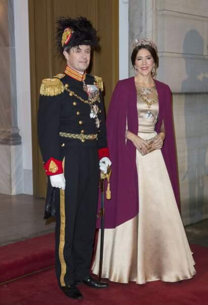 Le couple princier, Frédérick et Mary de Danemark
