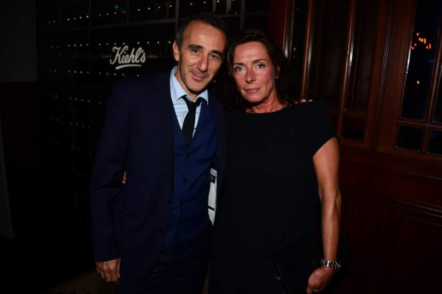 Elie Semoun et Nathalie Debras (Directrice de la Communication L'Oréal Luxe France)