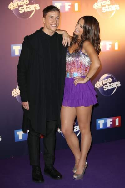 """Le chanteur Loïc Nottet est le grand gagnant de la saison 6 de """"Danse avec les Stars"""", en 2015"""