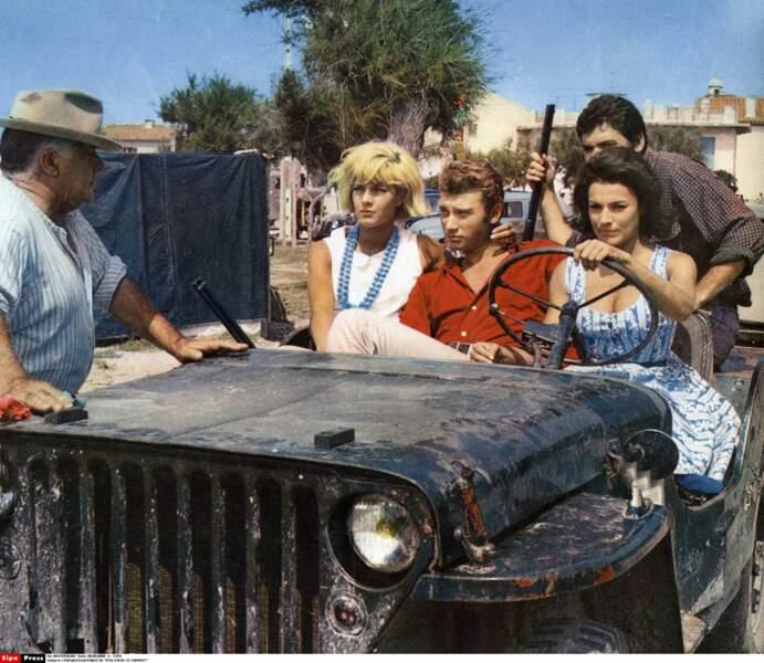 """Ils partagent l'affiche du film """"D'où viens-tu Johnny"""" en 1963"""
