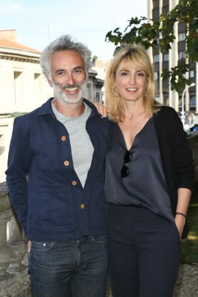 Julie Gayet a coproduit le prochain film de Vincent Delerm, qu'il a présenté à Angoulême