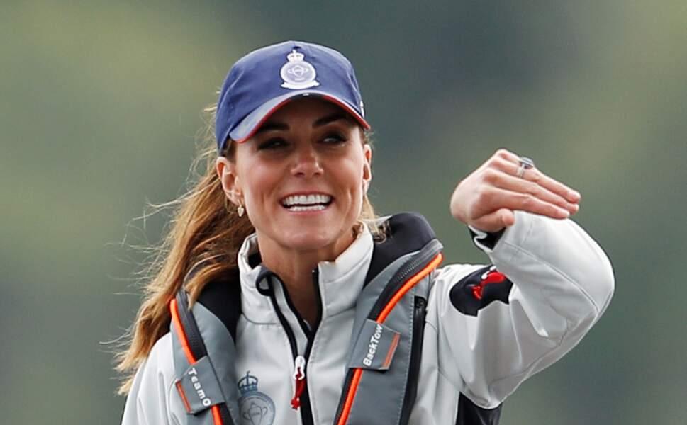 Il faut dire que Kate Middleton pouvait compter sur deux supperters de choc