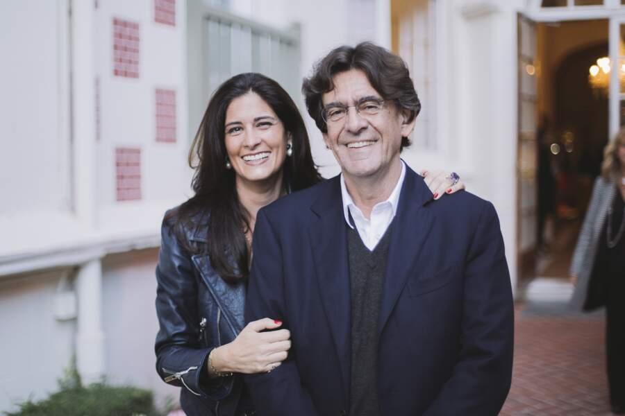 Luc Ferry et sa femme Marie-Caroline