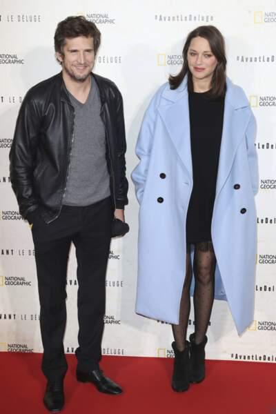 Guillaume Canet et Marion Cotillard (2016)