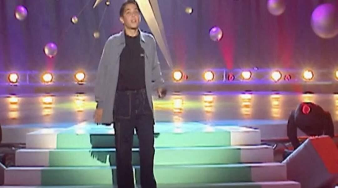 Grégory Lemarchal sur scène