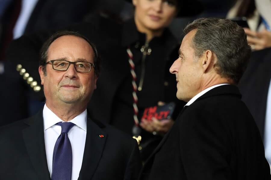 Rencontre au somment entre François Hollande et Nicolas Sarkozy