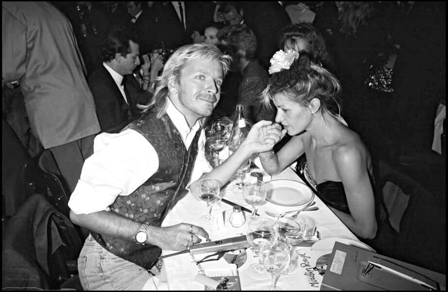Renaud et sa femme Dominique en 1986, la maman de Lolita