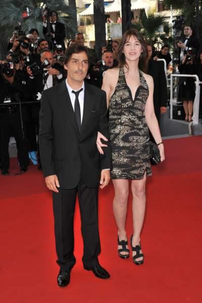Yvan Attal et Charlotte Gainsbourg au Festival de Cannes (2009)