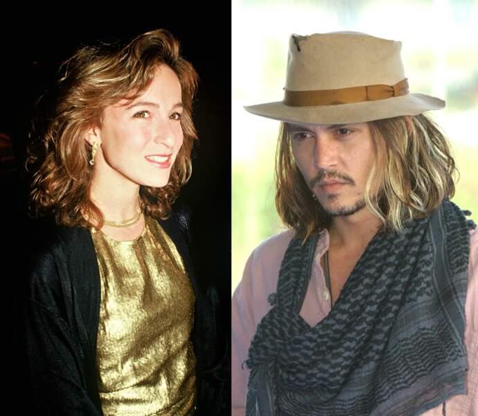 Jennifer Grey et Johnny Depp