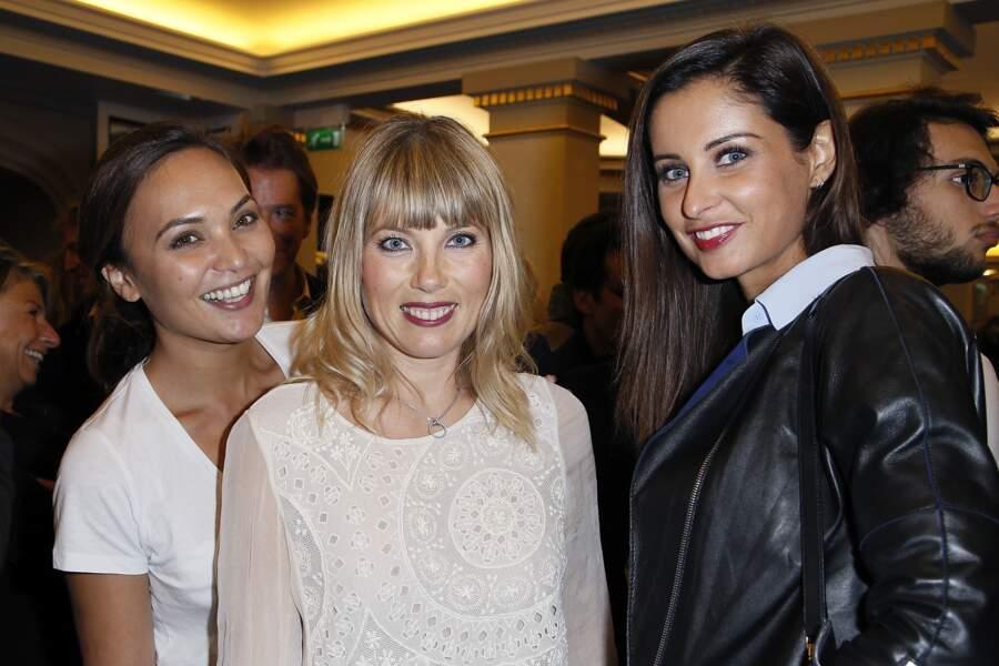 Valérie Begue, Mélanie Page, Malika Menard