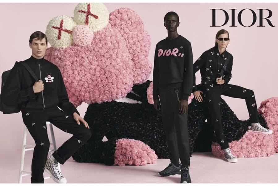 Nikolaï, déjà égérie Dior !