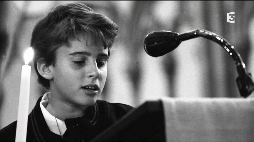 Emmauel Macron, très jeune