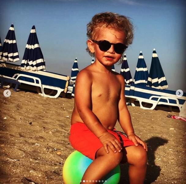 Tom, le fils d'Ingrid Chauvin, a désormais 2 ans