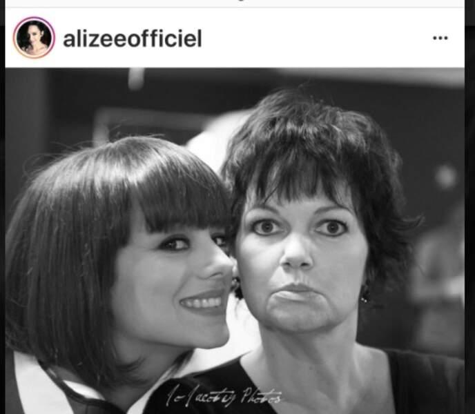 Alizée et Maurane