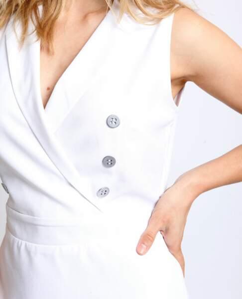 Pimkie sort une robe portefeuille blanche quasi identique à celle de Meghan Markle