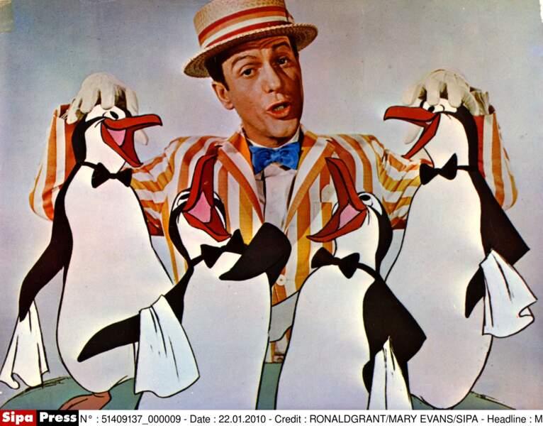 Dick Van Dyke dans le rôle de Bert