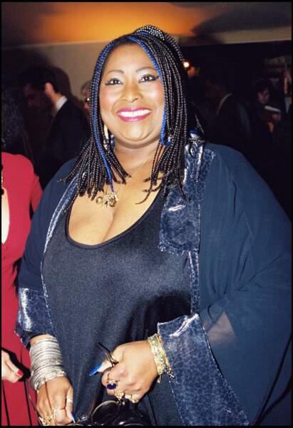 La chanteuse américaine Carole Fredericks (décédée le 7 juin 2001)