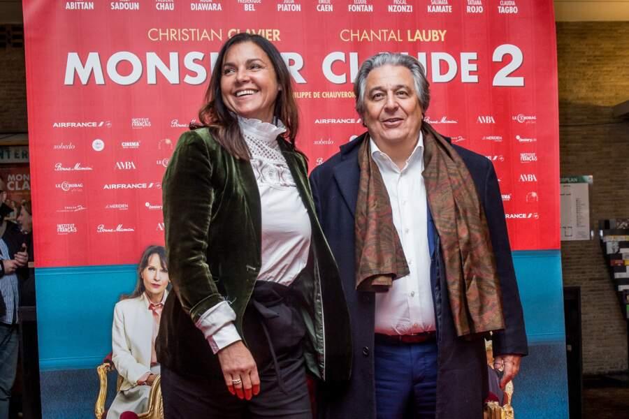 Il est rare que Christian Clavier et Isabelle de Araujo se dévoilent en public