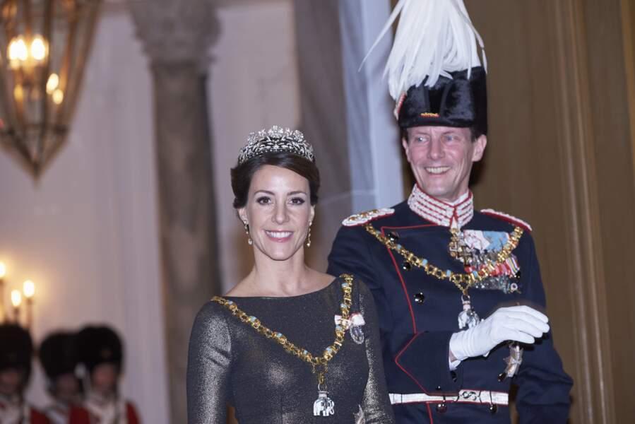 Marie de Danemark et le prince Joachim