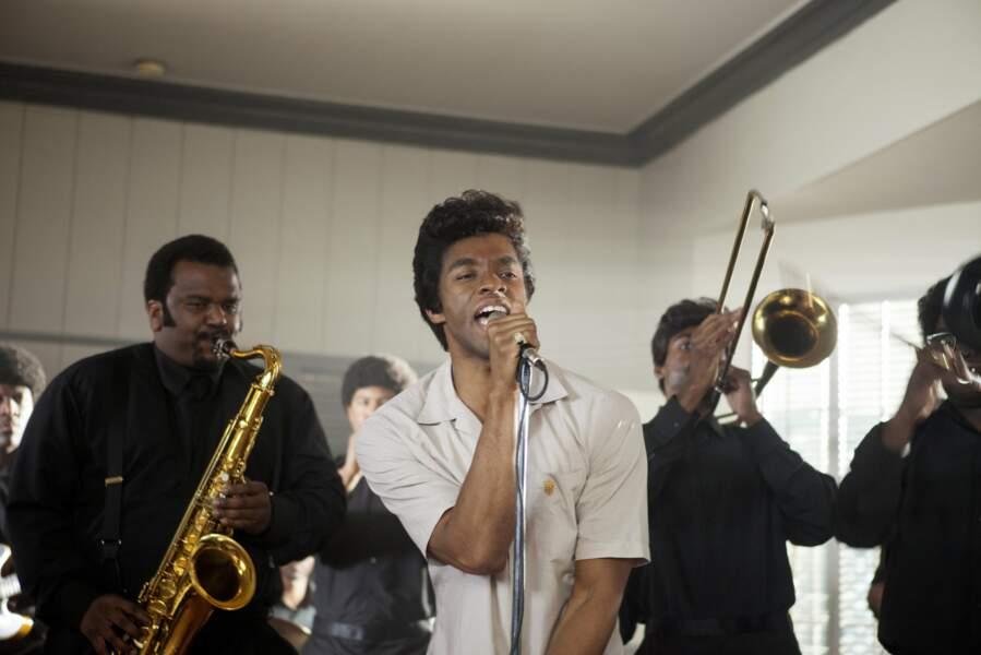 Chadwick Boseman dans GET ON UP (2014)