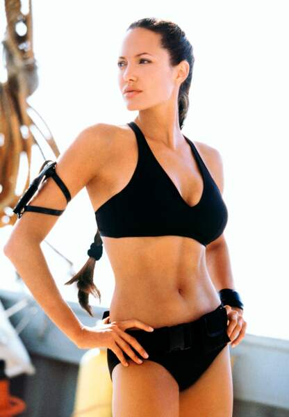 Angelina Jolie dans son rôle culte, Lara Croft
