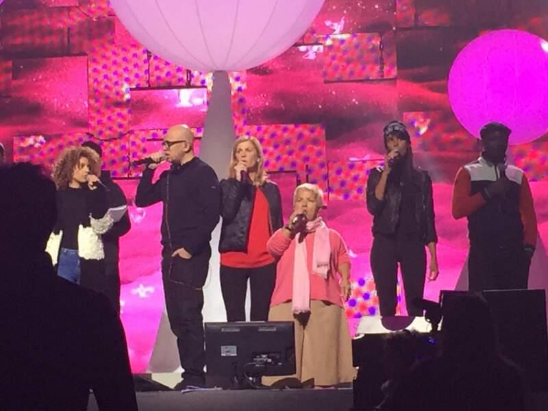 Tal, Pascal Obispo, Michèle Laroque, Mimie Mathy, Shy'm et MC Solaar