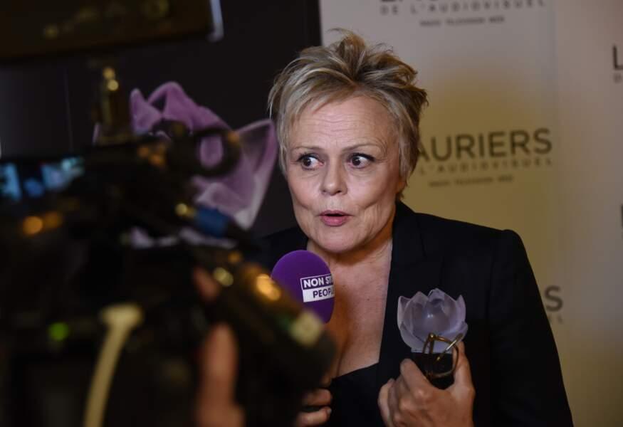 Muriel Robin avait toutefois reçu un Emmy pour son interprétation de Marie Besnard, à New York, en 2007