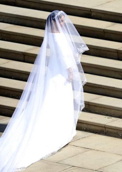 Meghan Markle sublime à son mariage