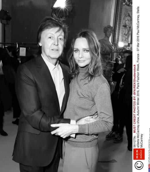 Stella McCartney son père Paul