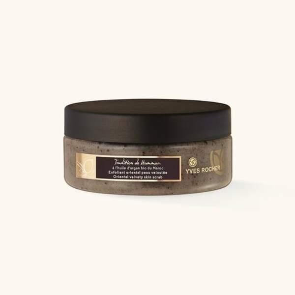 Exfoliant Oriental peau veloutée, Yves Rocher, 24,80 € Yves Rocher