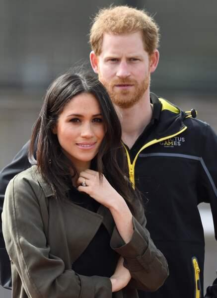 Harry et Meghan à l'université de Bath le 6 avril 2018