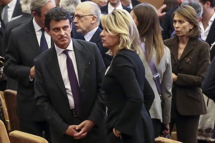 A cette occasion, Manuel Valls et sa compagne Susana Gallardo ne se sont pas quittés