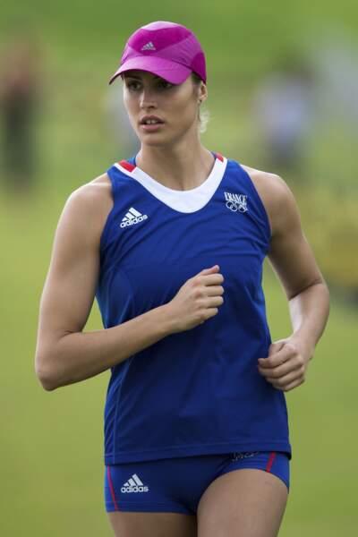 Elodie Clouvel chance française de médaille pour le penthatlon moderne