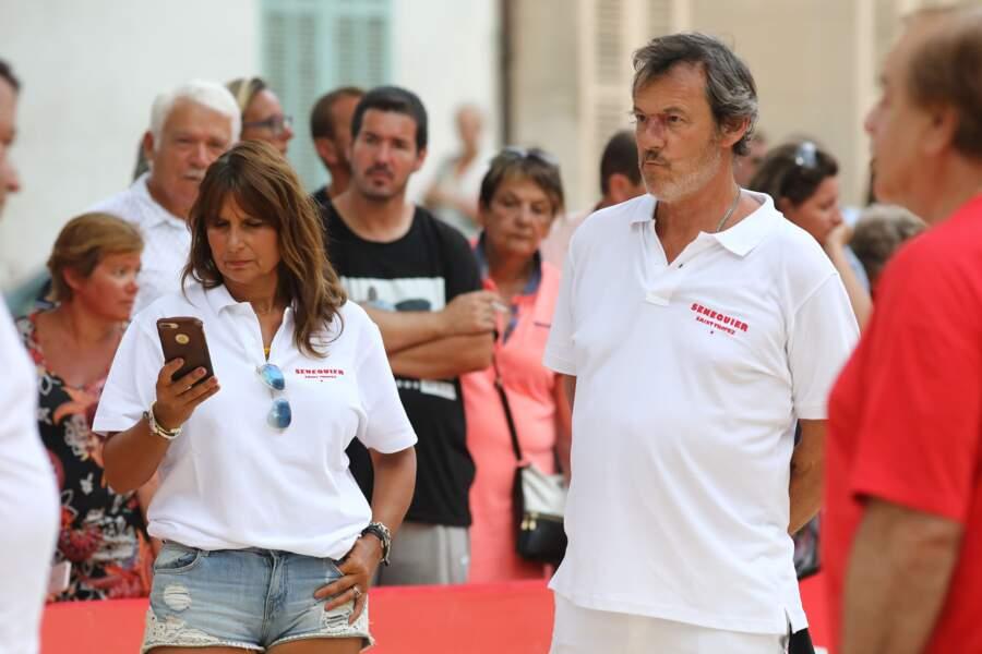 Jean-Luc Reichmann et sa femme Nathalie ont profité du soleil de Saint-Tropez avant leur retour à Paris