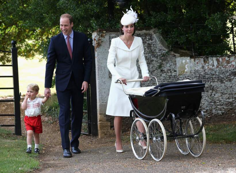 La princesse Charlotte de Cambridge a été baptisée le 5 juillet 2015, à l'église St Mary Magdalene de Sandringham.