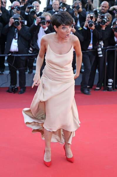 Florence Foresti attends the Cannes Film Festival