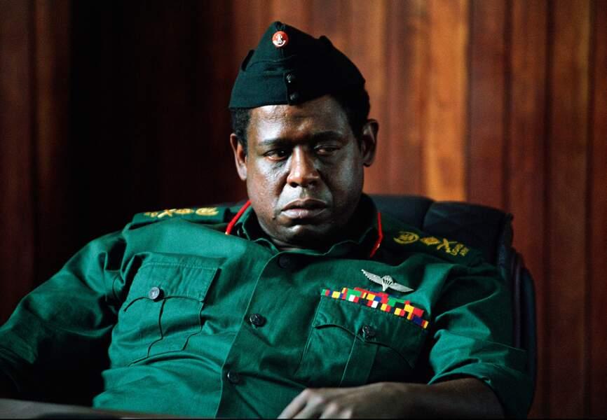 Forest Whitaker a été récompensé de l'Oscar du meilleur acteur pour le rôle d'Idi Amin Dada en 2007