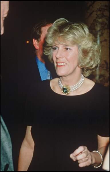 Camilla Parker Bowles, épouse du prince Charles.
