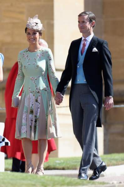Pippa Middleton très chic pour ce grand jour