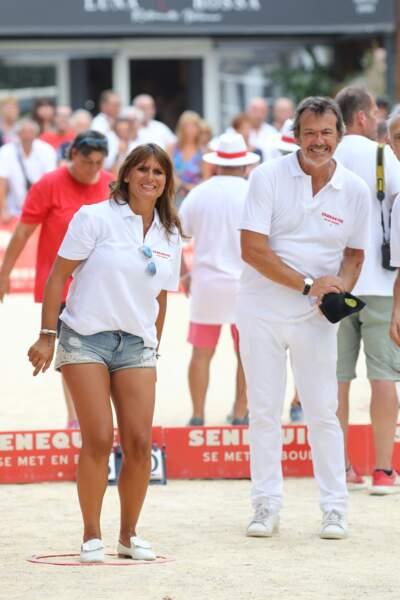 Jean-Luc Reichmann et sa femme Nathalie ont pu se détendre avant leur rentrée respective