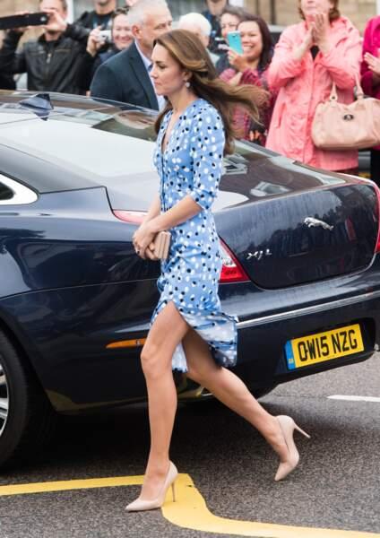Kate Middleton visite la Stewards Academy à Harlow le 16 septembre 2016