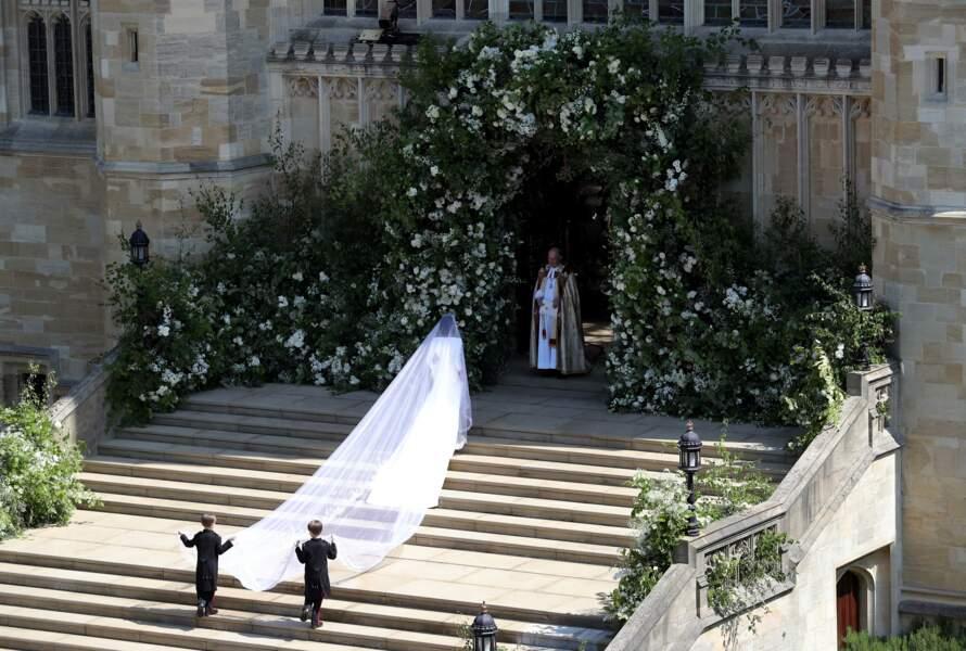 Meghan Markle en robe de mariée