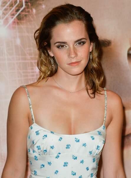 Les cheveux plaqués comme Emma Watson