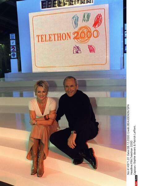 En 2000 avec Patrice Laffont